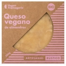 Queso vegano en bloque de Almendras Rústico bio 200gr Vegan Fromagerie