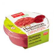 Hummus Remolacha Sin Gluten Vegano 130gr Germinal Bio