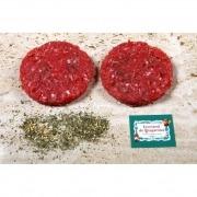 Hamburguesa de ternera con ajo y perejil 200 gr biológico Ecoviand