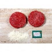 Hamburguesa de ternera con queso parmesano 200 gr biológico Ecoviand