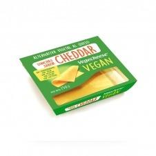 Queso vegano en Lonchas sabor Cheddar 150gr Vegecheese