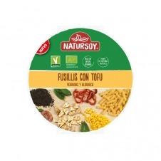 Fusilis con Tofu, verduras y albahaca 220gr Natursoy