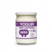 Yogur de Cabra 0% Sin lactosa Bio 420gr. Beee