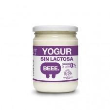 Yogur sin lactosa ecológico de Cabra 0% M.G. 420gr Beee