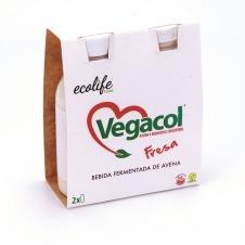 Vegacol sabor Fresa 2x200ml Ecolife Food