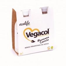 Vegacol sabor Manzana y Canela 2x200ml Ecolife Food