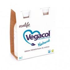Vegacol sabor Natural 2x200ml Ecolife Food