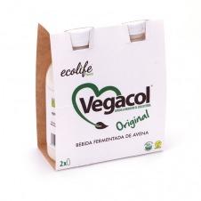 Vegacol sabor Original 2x200ml Ecolife Food