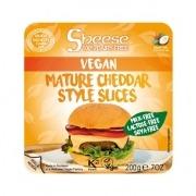 Queso Cheddar Curado en lonchas 200gr Vegano Sheese