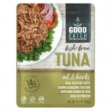 Atún vegano en Aceite de hierbas 94gr Sin gluten Good Catch