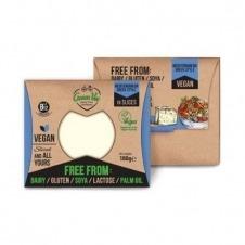 Queso vegano en lonchas sabor Mediterráneo 180gr Green Vie