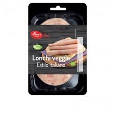 Embutido vegano en lonchas Lonchi-Veggie estilo italiano 100gr Bio El Granero Integral