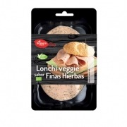 Embutido vegano en lonchas Lonchi-Veggie sabor Finas Hierbas 100gr Bio El Granero Integral