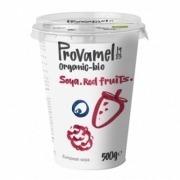 Yogur vegano de Soja con Frutos rojos Provamel 500gr Bio Santiveri