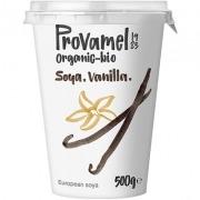Yogur vegano de Soja sabor Vainilla Provamel 500gr Bio Santiveri