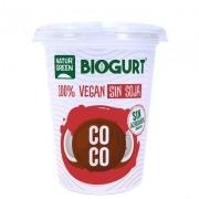 Yogur vegano de Coco Bio 400gr Naturgreen Biogurt
