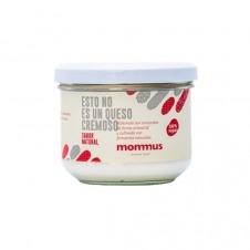 Queso vegano en crema sabor Natural 190gr Mommus