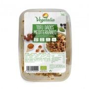 Tofu dados estilo Mediterráneo Eco 200gr Vegetalia