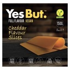 Queso vegano estilo Cheddar en lonchas 150gr Yes But