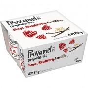 Provamel Yogur Soja Frambuesa Vainilla Bio 4x125gr Santiveri