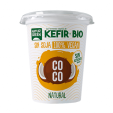 Kefir vegano sabor coco Bio 400gr NaturGreen