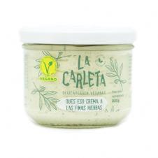 Queso crema vegano a las Finas Hierbas 200gr La Carleta