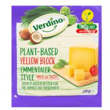 Queso vegano Bloque Emmental 200gr Verdino