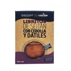Libritos Veganos de Seitán Cebolla y Dátiles 200gr Biospirit