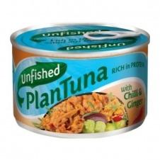 Atún VeganoPlanTunaChili y Ginger 150gr Unfished