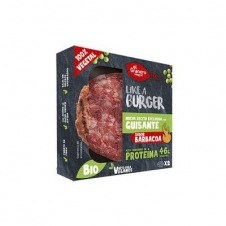 Like a Burguer Vegana Sabor Barbacoa Bio 2x100gr El Granero Integral