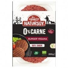 Hamburguesa Vegana 0% carne Eco 2x100gr Natursoy