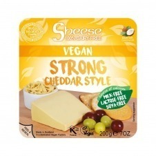 Queso vegano estilo Cheddar curado 200gr Sheese