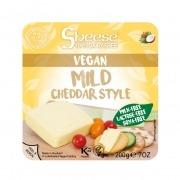 Bloque vegano estilo cheddar semicurado 200gr Sheese