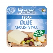 Queso vegano en Bloque estilo Azul 200gr Sheese