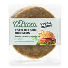 Hamburguesa Vegana Avena Quinoa y Verduras Bio 160gr Ahimsa