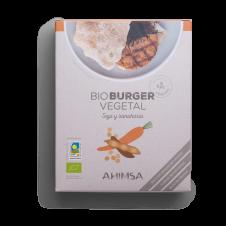 Bio Burguer vegetal Soja y Zanahoria 150gr Ahimsa
