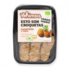 Croquetas Veganas de Champiñón y Tofu Bio 200gr Ahimsa