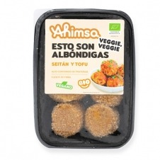 Albóndigas Veganas de Seitán y Tofu Bio 220gr Ahimsa