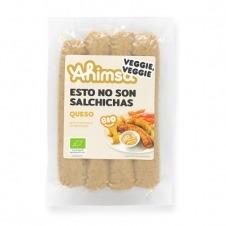 Salchicha Vegetal con Queso Bio 230gr Ahimsa