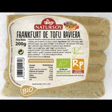 Frankfurt vegetal de Tofu baviera 200gr Natursoy