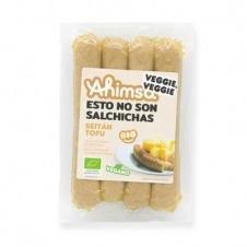 Salchichas Veganas Seitán y Tofu Bio 200gr Ahimsa