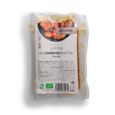 Bio Chorizo vegetal Sansón 230gr Ahimsa