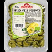 Tortelloni Integral de Queso y Espinacas Bio 250gr Natursoy