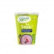 Yogur de soja frutas de la pasión y frambuesa - 400 gr - Sojade