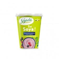 Yogur de Soja sabor Fruta de la pasión y Frambuesa So Soja! 400gr Sojade