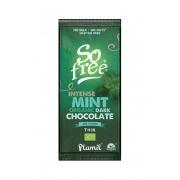 Chocolate negro a la menta intensa 60% cacao Eco Vegan Plamil