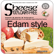 Queso vegano estilo Edam 227gr Sheese