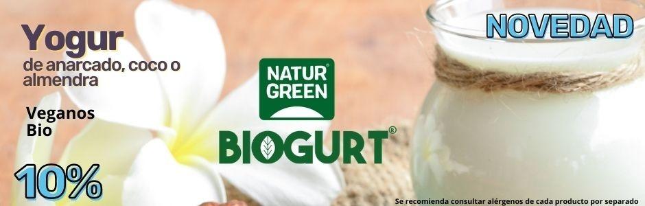 Abril 2021 Yogurt Natur green biogurt