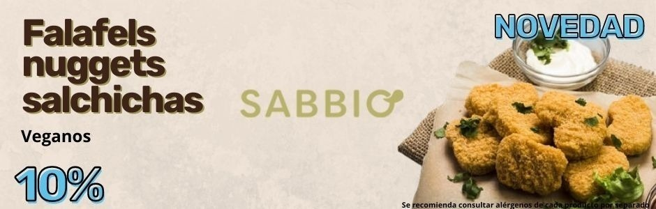 Abril 2021 Falafels nuggets y salchichas de Sabbio