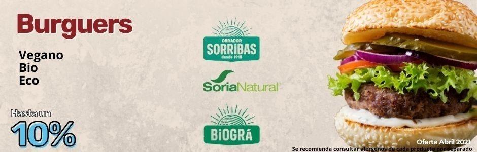 Abril 2021 Burveg y Hamburguesas de Soria natural Obrador sorribas y Biogra